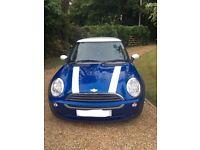 GORGEOUS BLUE 2005 MINI ONE HATCHBACK 1.6 ENGINE