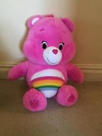 Care Bear cuddly toy for sale, hardly been used and in great condition