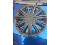 Wheel rims in black 15inch x 3
