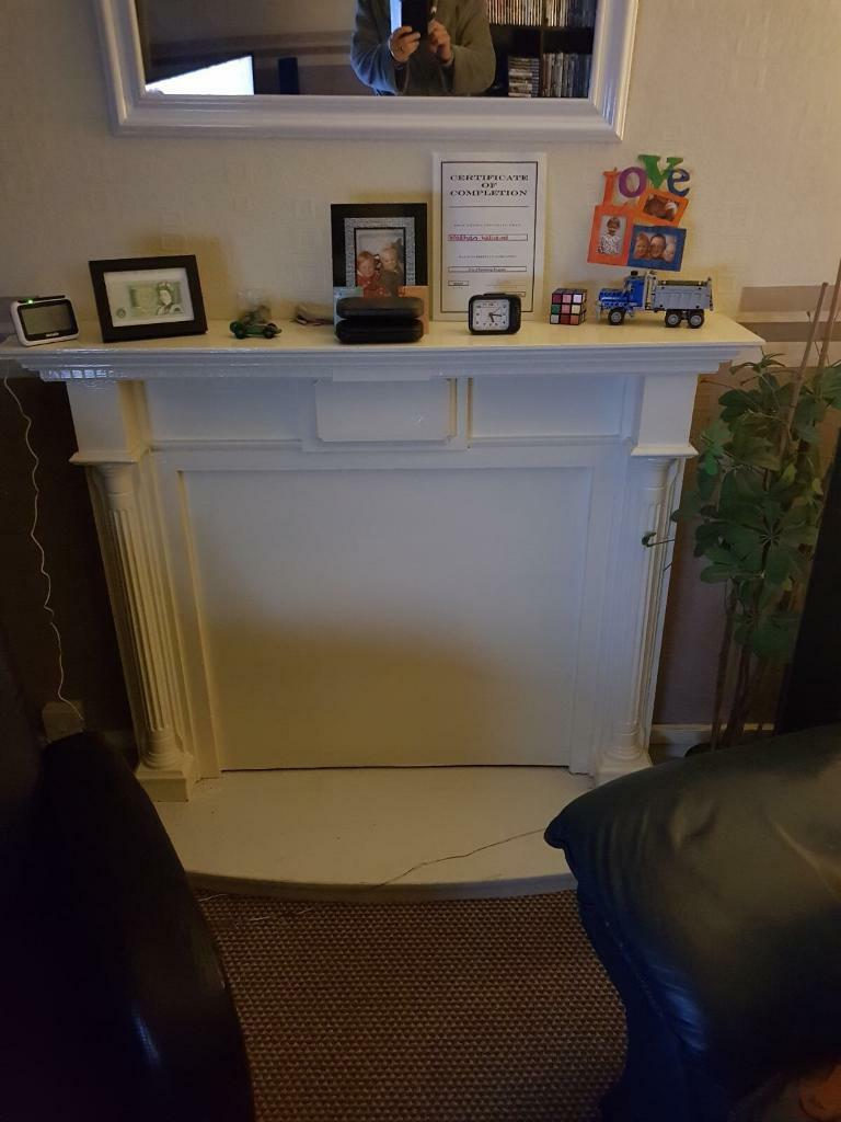 Fireplace and marble half for sale