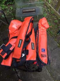 Life jacket bundle for sale. Or seap