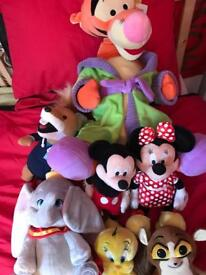 Official Disney Soft Toy Characters