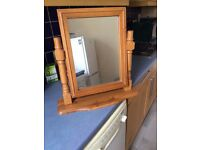 Beautiful mirror for table top or dresser in bedroom
