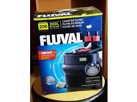 Fluval 206 external fish tank filter