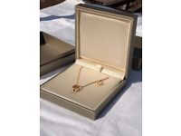 Brand New Bvlgari Seprenti Viper 18kt Rose Gold & Diamonds Necklace – RRP £4,050