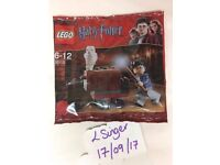 Brand New / Sealed Lego Harry Potter Trolley Polybag (30110)