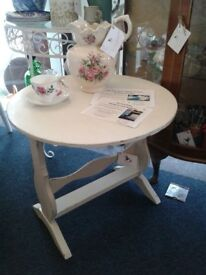Occasional table in Antique Cream by Katy Rose Vintage
