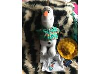 Olaf build a bear