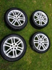 Vauxhall/saaballoys and tyres