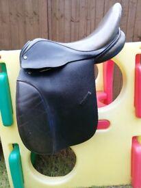 "Saddle - genuine Antill 17"" brown"