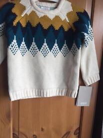 Mamas & papas knitted jumper