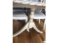 Large extending dining room table