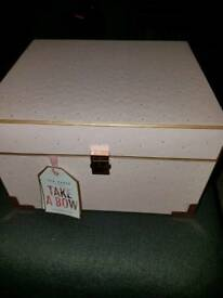 Large Ted Baker Take A Bow Treasure Chest