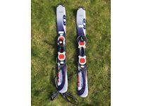 Ski blades two sets ( salmon & Stockli)