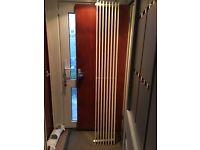 Vertical white radiator 1970 x 290mm