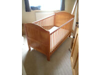 wooden cot bed, toddler bed, CAN DELIVER