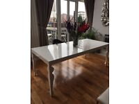 Beautiful White Dining Table
