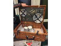 Antler picnic basket