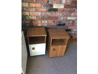 Vintage bedside tables (£10 for both)