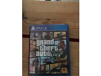 GTA V for PS4 - Case, disc and papers included!