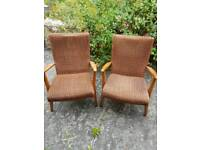x2 chairs