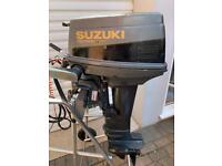 Suzuki 15 Hp Outboard Boat Engine…..Fishing Sail Yacht Dingy