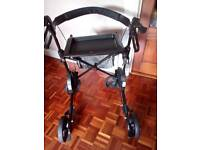 Mobility walker Volito 4 wheel rollator with brake,seat,tray ,bag.ect