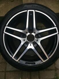 Mercedes Benz c-class alloy