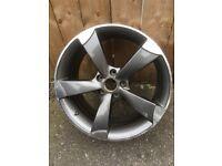 Audi replica alloy wheels