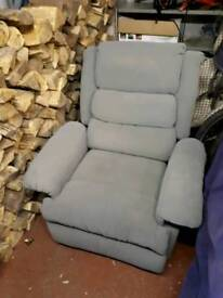 Free Reclining Chair.