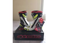 Brand NEW (with the tag on) ALPINESTARS S-MX Plus Motobike Boots,size EUR 43
