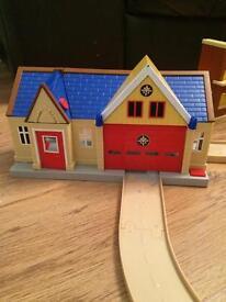 Fireman Sam station and track set