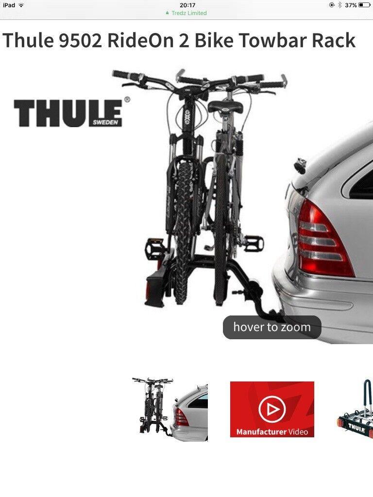 Thule RideOn 2 Bike Towbar Rack