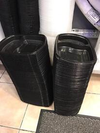 Microwaveable takeaway cartons