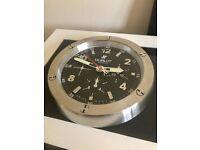 Rolex & Hublot wall clock, Large metal clock