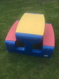 Little Tikes Picnic Table - Primary Colors