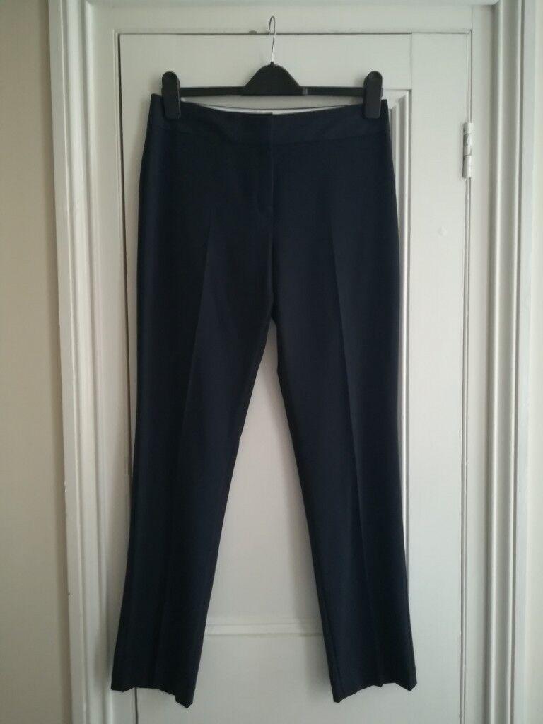 Women S M S Navy Suit Trousers Size Uk 10 In Bath Somerset