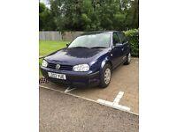 Volkswagen Golf 2002 petrol