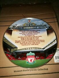 Liverpool You'll Never Walk Alone Plate