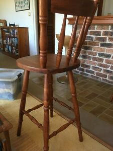 Timber Bar Stools in Excellent Condition Gymea Bay Sutherland Area Preview