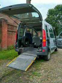 Renault Kangoo mobility disabled wheelchair access car van 40k! Petrol
