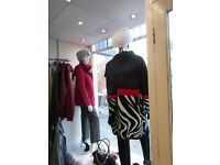 Shop display mannequins