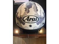 Arai freeway 2 white commander helmet size xxl
