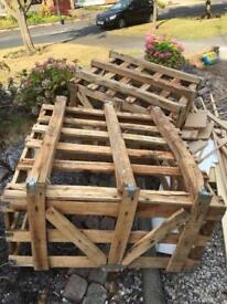 Free two wooden crates