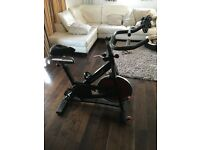 Excellent condition spin bike 2nd hand bought from gym