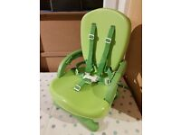 Mothercare – Deluxe folding booster seat/highchair £10