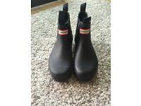 Black HUNTER Chelsea boots - UK 4