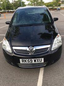 Vauxhall Zafira /petrol/ Manual/1.6/ 7 seater /2009/12 months MOT