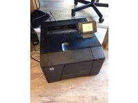 HP laserjet 200 color M251NW printer