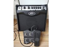 Peavey VYPYR VIP 1 Guitar Amp / Amplifier + Sanpera 1 Footswitch